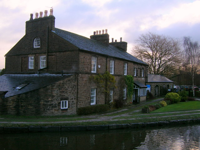 House at Marple Top Lock