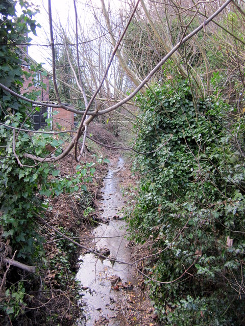 Chad Brook From Nursery Road Bridge Harborne