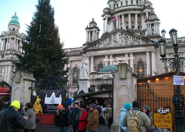 The Main Gate Of Belfast City Hall Eric Jones Cc By Sa20
