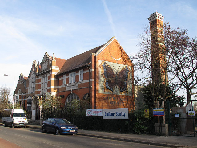 Former public baths, North Peckham