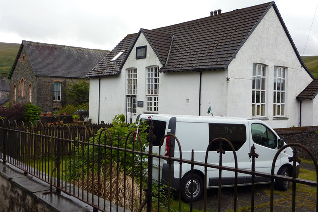 Chapel and former school, Cwmystwyth