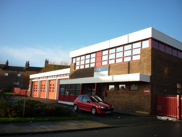 Hunslet fire station