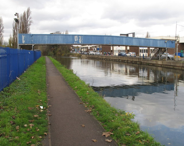 Footbridge 11C Paddington Branch Grand Union Canal to Northfield Industrial Estate