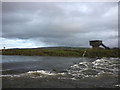 SD5265 : Weir and water testing station, River Lune above Crook of Lune : Week 50