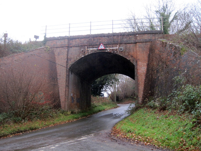 Railway bridge over Brinkers lane