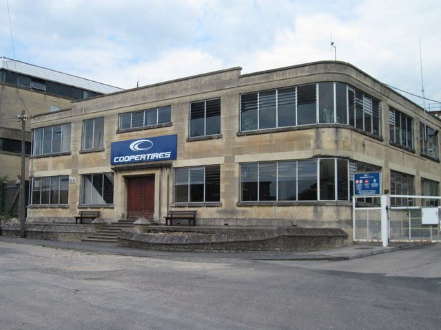 Art Deco Offices Bath Road Melksham 169 Alan Cooper