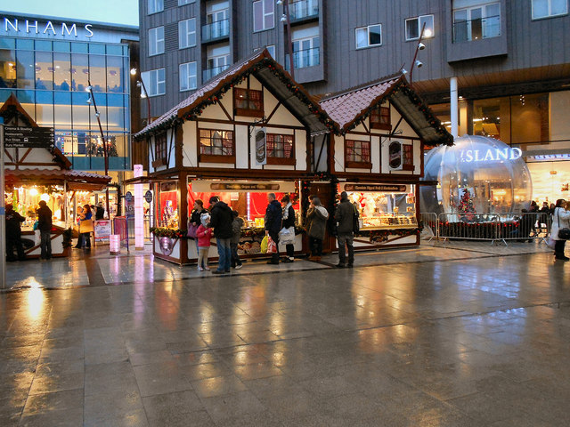 Christmas Market, The Rock