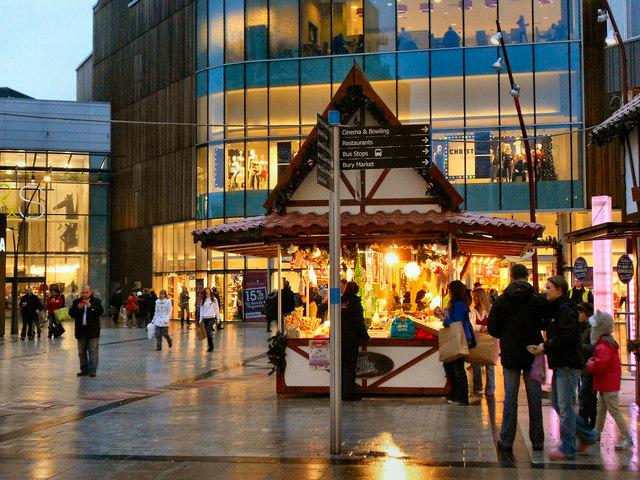Christmas Market, St John's Square