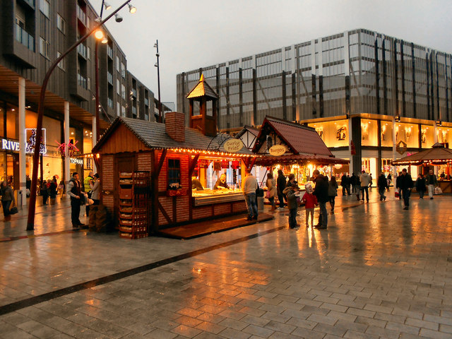 Christmas Market at The Rock