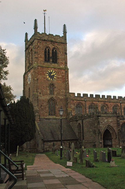 Holy Trinity Church - Eccleshall
