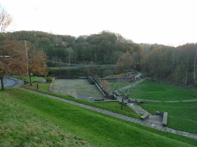 Site of the former Park Bridge Ironworks