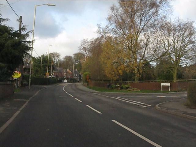 A51 in Woore