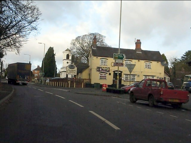 Woore - The Coopers Arms public house