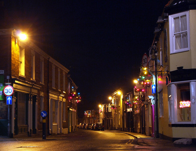 Christmas Lights on Souttergate