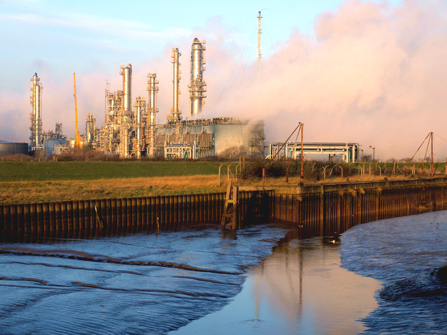 Hedon Haven and Saltend Chemical Works