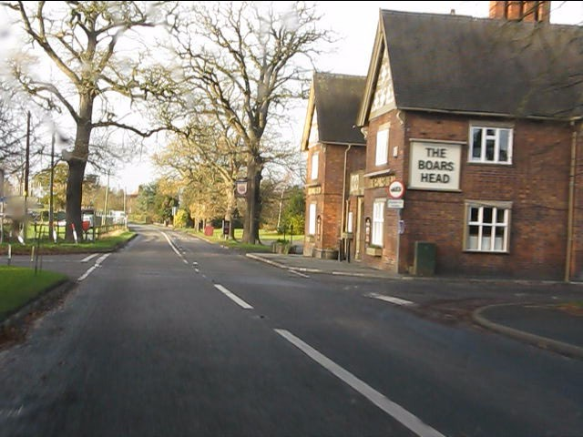 The Boar's Head pub, Walgherton