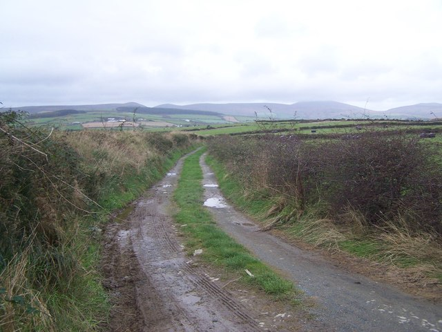 Footpath At Ballannette