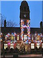 SJ9494 : Town Hall Christmas Lights 2011 by Gerald England