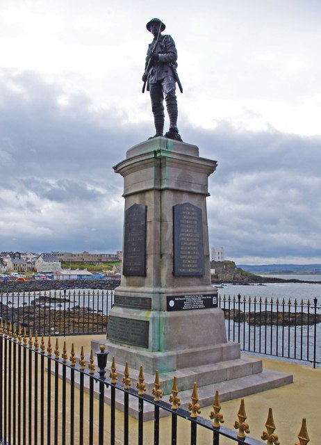 Portstewart War Memorial (1), Harbour Road, Portstewart