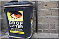 SE3406 : Benchmark beside litter bin outside #86 Old Mill Lane by Roger Templeman