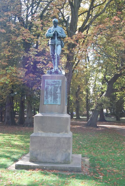 Boer War Memorial, Christchurch Park