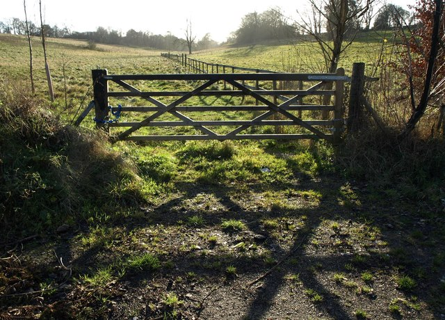 Gate by Church Lane