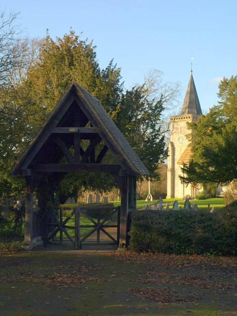 Lych gate, Chelsham
