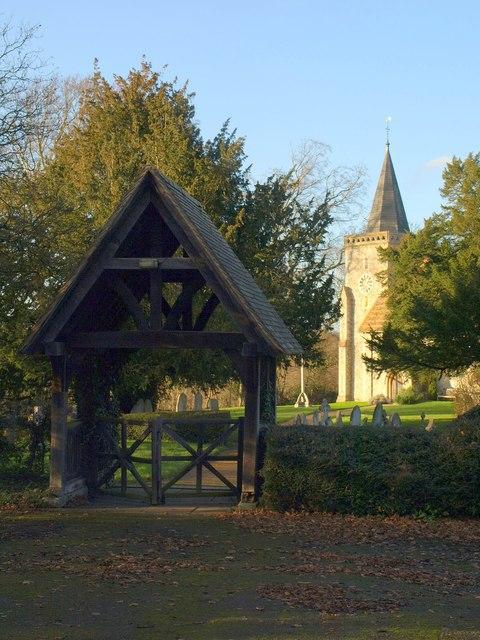 Lych gate, Chelsham