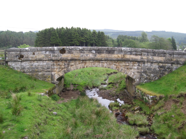 Bridge at Kielder over Cat Cleugh