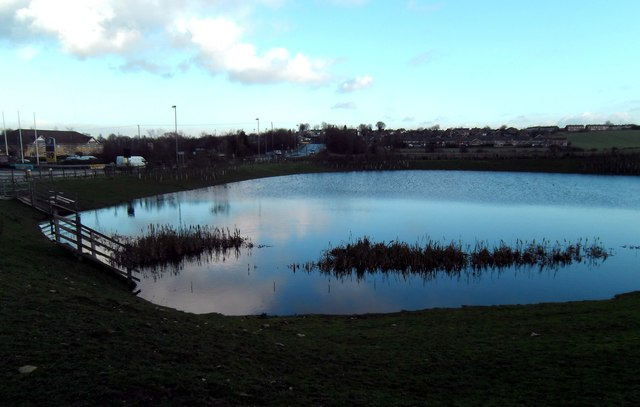 Containment pond