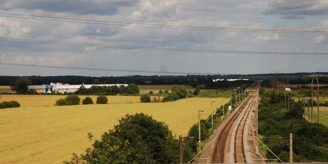 Railway line to Basildon