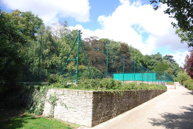 Tennis Courts, Christchurch Park