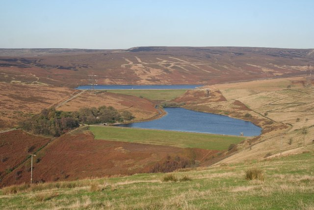 Lower and Higher Swineshaw Reservoirs