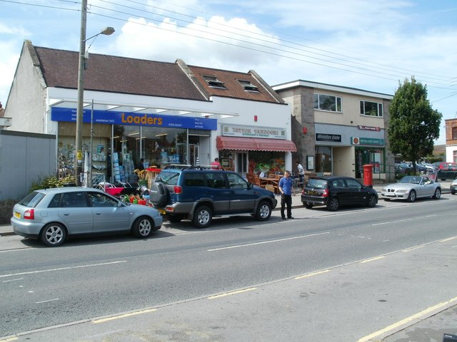 High Street shops near Yatton Post Office