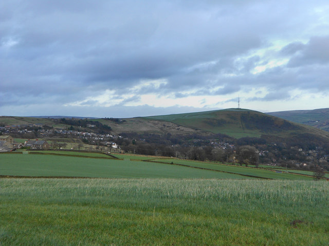 View from Quick Edge (2): Wharmton Hill