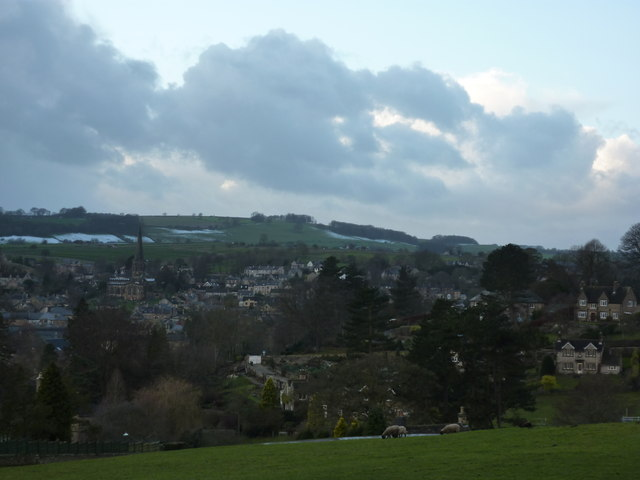 Bakewell, from the Monsal Trail