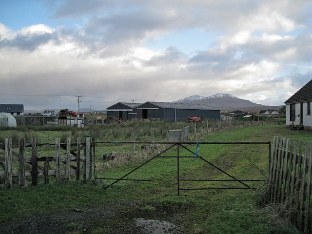 Farm buildings in Harrapoool