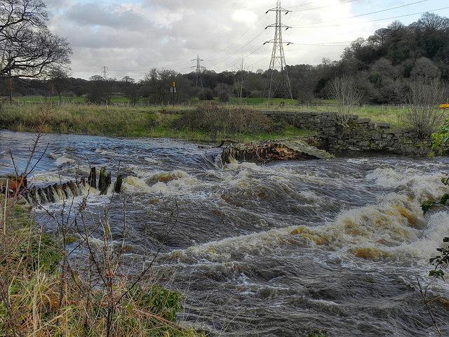 River Goyt, Chadkirk Weir