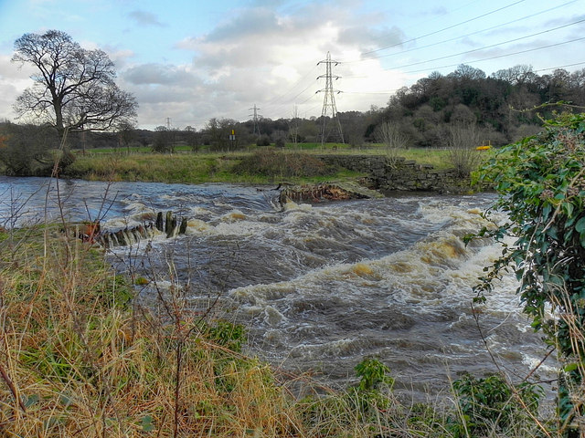 Broken Weir, River Goyt