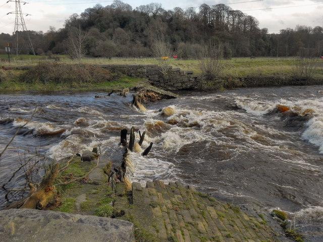 Chadkirk Weir, River Goyt