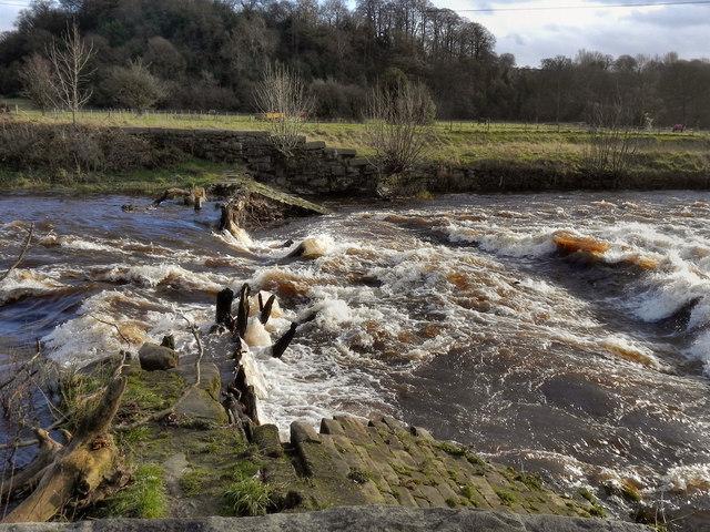 Broken Weir, Chadkirk