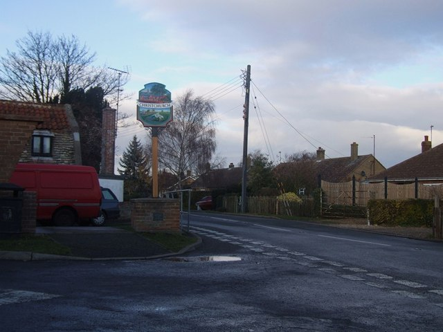 Christchurch Village Sign