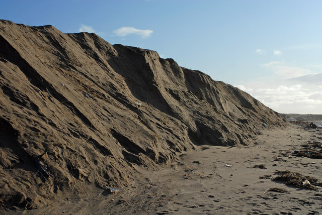 Engineered Dune Front at Hightown