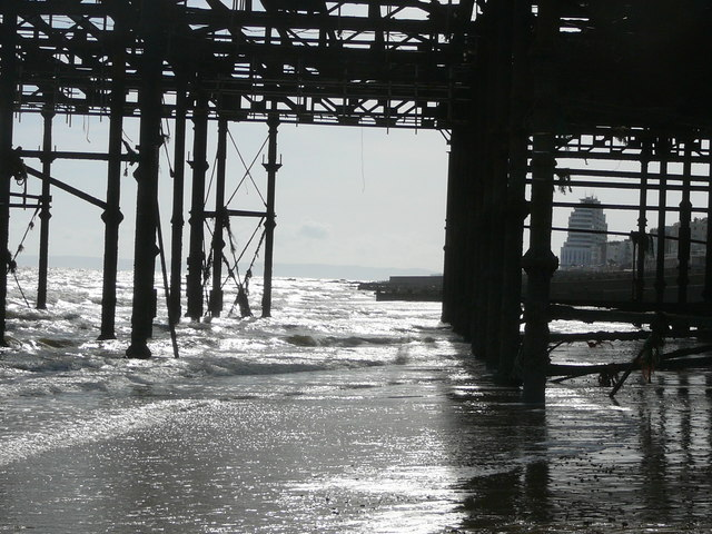 'Under the Pier' at Hastings