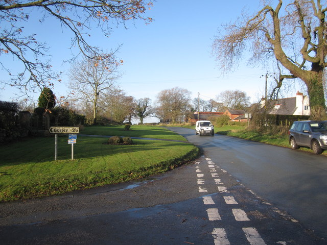 Woodhouse End Road, Gawsworth
