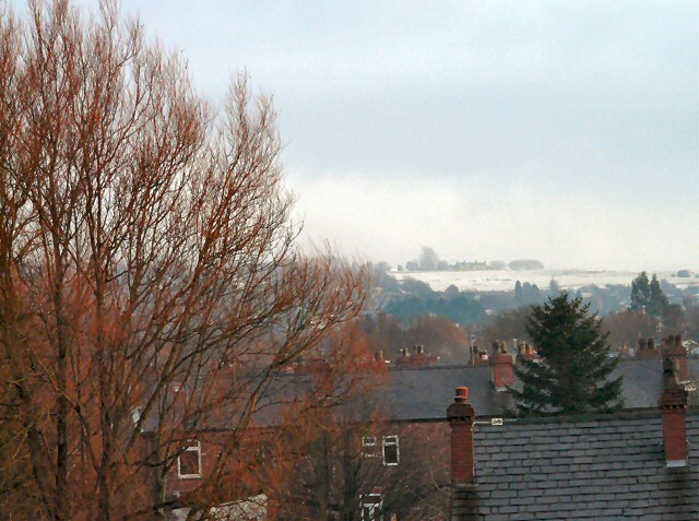 View over Garside Street and Brooks Avenue