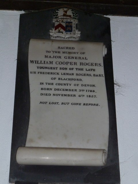 Saint Mary, Overton: memorial (8)