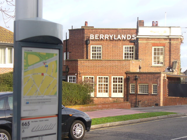 Berrylands Bus Stop