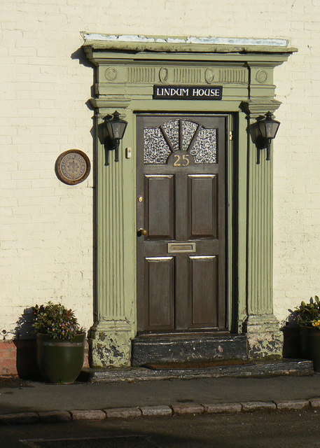 Door at Lindum House