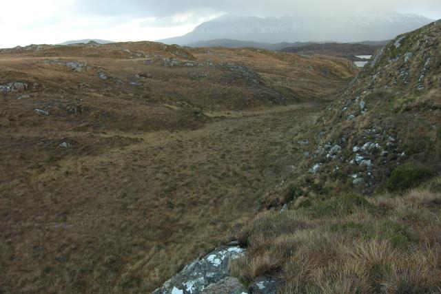 Towards Lochan Cuilce